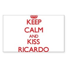 Keep Calm and Kiss Ricardo Decal
