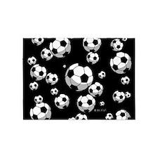 Soccer 5'x7'Area Rug
