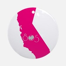 CALIFORNIA 805 Ornament (Round)
