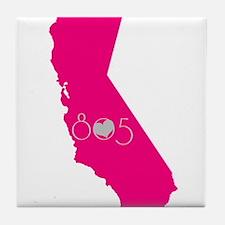 CALIFORNIA 805 Tile Coaster