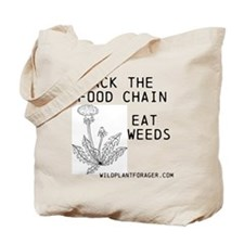 Unique Weeds Tote Bag