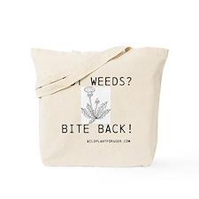 Cute Weeds Tote Bag