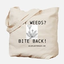 Cute Weeds Tote Bag