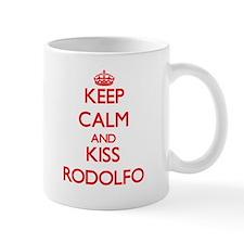 Keep Calm and Kiss Rodolfo Mugs