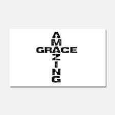Amazing Grace Car Magnet 20 x 12