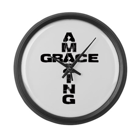 Amazing Grace Large Wall Clock By Newgeneration