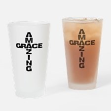 Amazing Grace Drinking Glass