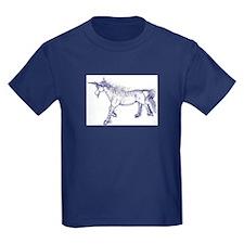 Blue/Black Unicorn Zephyr T