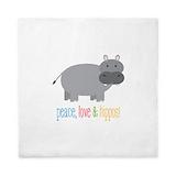 Hippopotamus Queen Duvet Covers