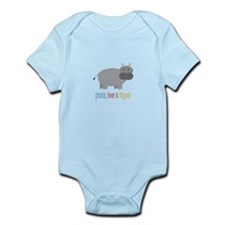 Peace, Love & Hippos! Body Suit