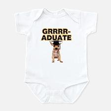 Graduation Chihuahua Infant Bodysuit