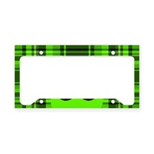 Peeking Alien UFO License Plate Holder
