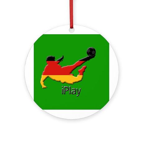 iPlay Germany Ornament (Round)