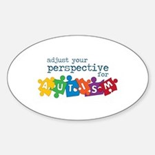 Adjust Your Perspective For Autism Decal