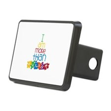 I Am More Than Autism Hitch Cover