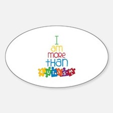 I Am More Than Autism Decal