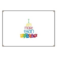 I Am More Than Autism Banner