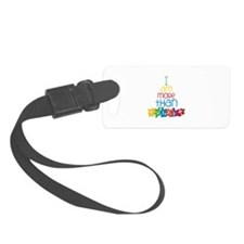 I Am More Than Autism Luggage Tag