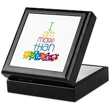 I Am More Than Autism Keepsake Box