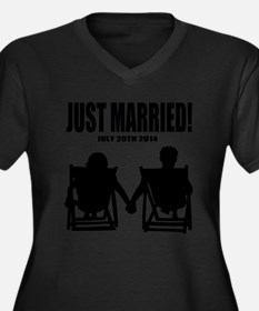 Just Married | Marriage Humor Plus Size T-Shirt