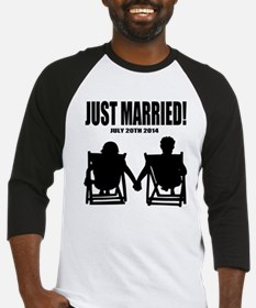 Just Married | Personalized wedding Baseball Jerse
