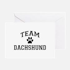 Team Dachshund Greeting Card