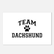 Team Dachshund Postcards (Package of 8)