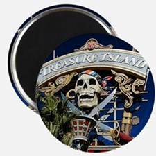 Treasure Island Sign Magnet