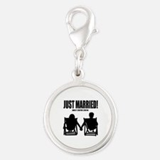 Just Married | Personalized wedding Charms