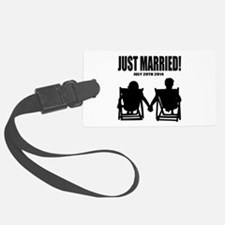 Just Married | Personalized wedding Luggage Tag