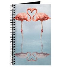 Pink Flamingos In Love Journal