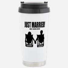 Just Married | Personalized wedding Travel Mug