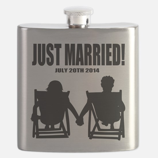 Just Married | Personalized wedding Flask