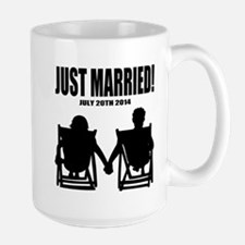 Just Married | Personalized Newlyweds Mugs