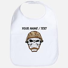 Custom Soldier Skull Bib
