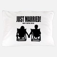 Just Married | Personalized wedding Pillow Case
