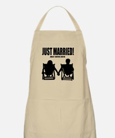 Just Married | Personalized Newlyweds Bbq Apron