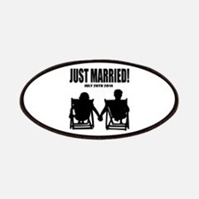 Just Married | Personalized wedding Patches