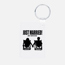 Just Married | Personalized wedding Keychains