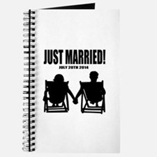 Just Married | Personalized wedding Journal