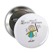 """Best Teacher 2.25"""" Button"""