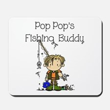 Pop Pop's Fishing Buddy Mousepad