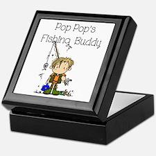 Pop Pop's Fishing Buddy Keepsake Box