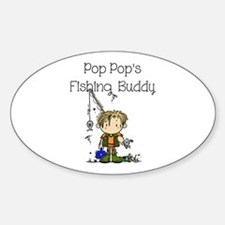Pop Pop's Fishing Buddy Decal