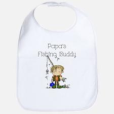 Papa's Fishing Buddy Bib
