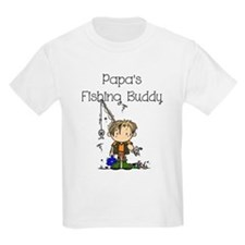 Papa's Fishing Buddy T-Shirt