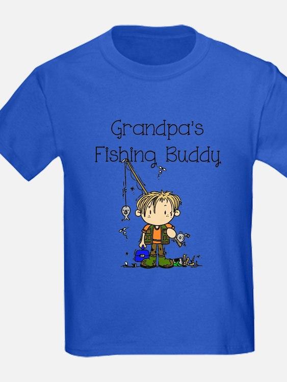 Grandpa's Fishing Buddy T