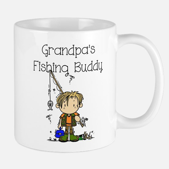 Grandpa's Fishing Buddy Mug