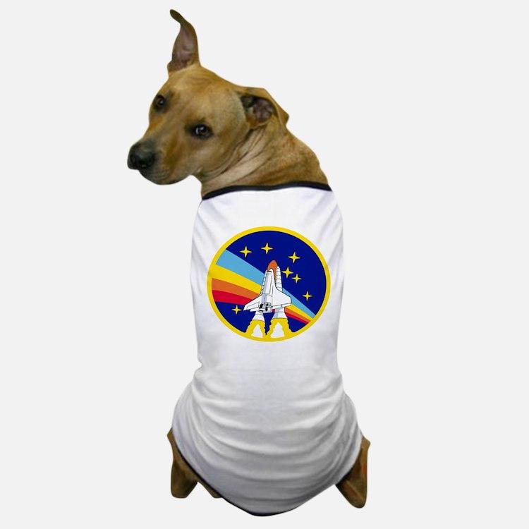 Rainbow Rocket Dog T-Shirt