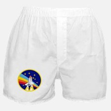 Rainbow Rocket Boxer Shorts